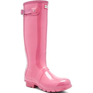 NWOT Hunter Women's Original Tall Gloss Rain Boot